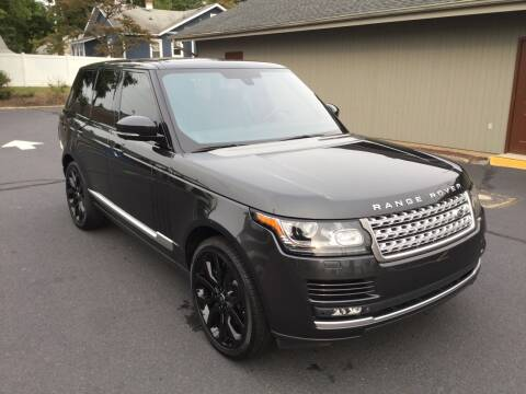 2015 Land Rover Range Rover for sale at International Motor Group LLC in Hasbrouck Heights NJ
