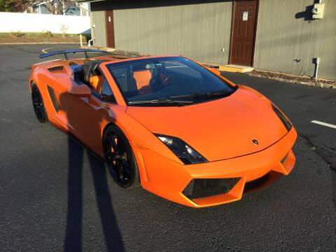 2011 Lamborghini Gallardo for sale at International Motor Group LLC in Hasbrouck Heights NJ