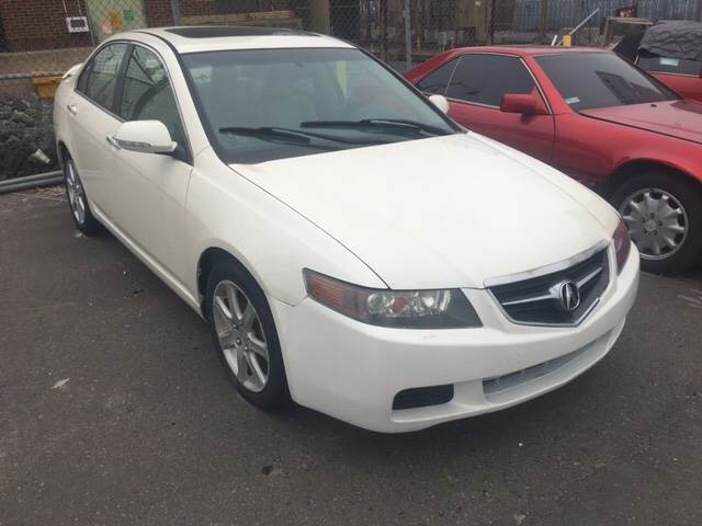 2004 Acura TSX for sale at International Motor Group LLC in Hasbrouck Heights NJ