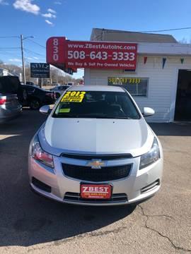 2012 Chevrolet Cruze for sale in North Attleboro, MA