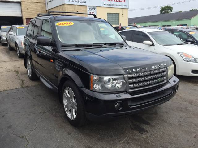 2006 Land Rover Range Rover Sport for sale at Lo's Auto Sales in Cincinnati OH