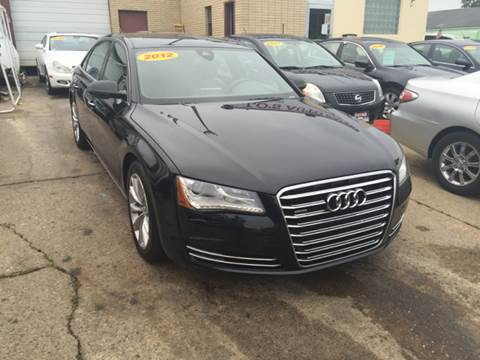 2012 Audi A8 for sale at Lo's Auto Sales in Cincinnati OH