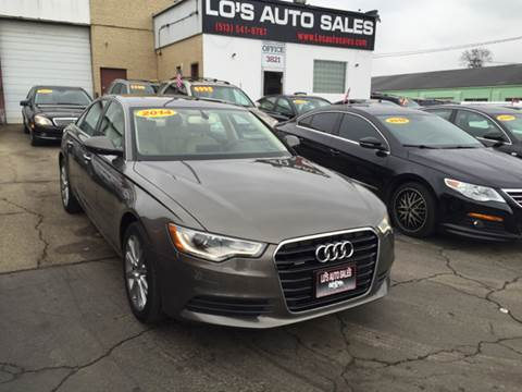 2014 Audi A6 for sale at Lo's Auto Sales in Cincinnati OH