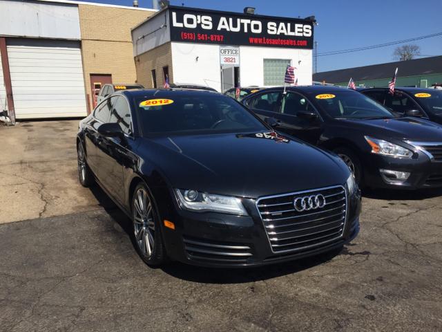 2012 Audi A7 for sale at Lo's Auto Sales in Cincinnati OH