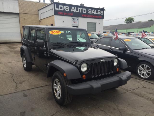 2007 Jeep Wrangler Unlimited for sale at Lo's Auto Sales in Cincinnati OH