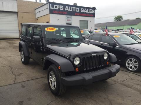2007 Jeep Wrangler Unlimited for sale at Lo's Auto Sales in Cincinnati OH