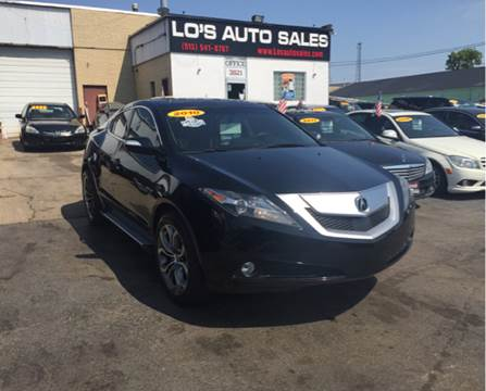 2010 Acura ZDX for sale at Lo's Auto Sales in Cincinnati OH