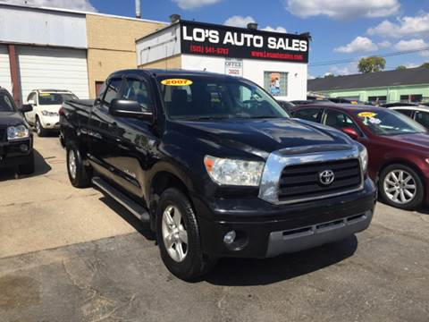2007 Toyota Tundra for sale at Lo's Auto Sales in Cincinnati OH