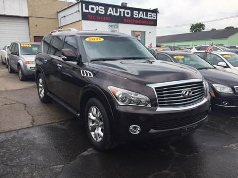 2011 Infiniti QX56 for sale at Lo's Auto Sales in Cincinnati OH