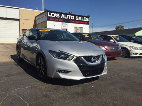 2016 Nissan Maxima for sale at Lo's Auto Sales in Cincinnati OH