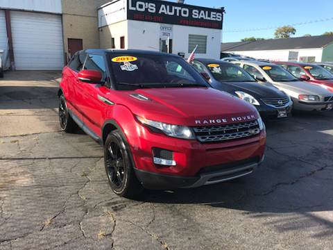 2013 Land Rover Range Rover Evoque Coupe for sale in Cincinnati, OH