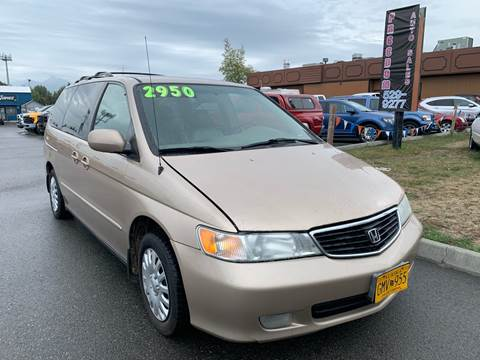 2001 Honda Odyssey for sale at Freedom Auto Sales in Anchorage AK