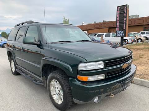 2003 Chevrolet Tahoe for sale at Freedom Auto Sales in Anchorage AK