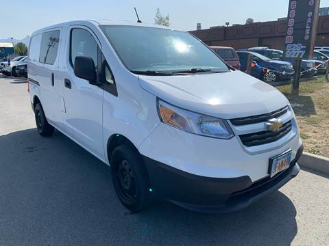2016 Chevrolet City Express Cargo for sale at Freedom Auto Sales in Anchorage AK