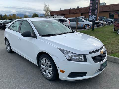 2013 Chevrolet Cruze for sale at Freedom Auto Sales in Anchorage AK
