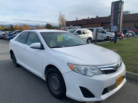 2012 Toyota Camry for sale at Freedom Auto Sales in Anchorage AK