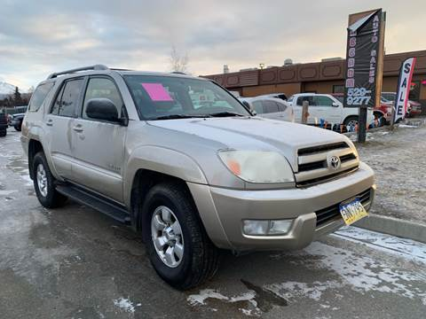 2004 Toyota 4Runner for sale at Freedom Auto Sales in Anchorage AK