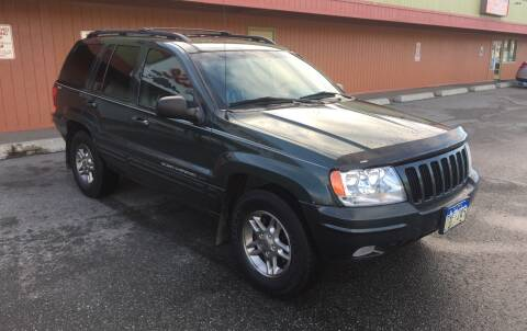 2000 Jeep Grand Cherokee for sale at Freedom Auto Sales in Anchorage AK