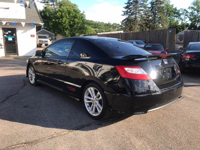 2006 Honda Civic Si 2dr Coupe w/Summer Tires - Whitman MA