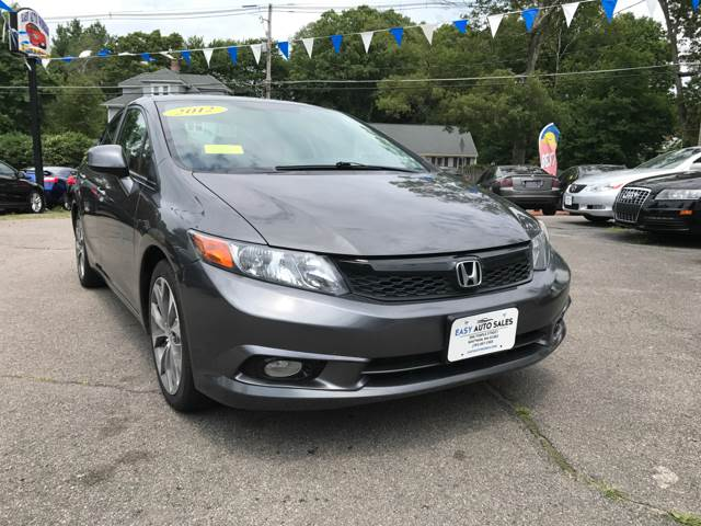 2012 Honda Civic Si 4dr Sedan w/Summer Tires - Whitman MA