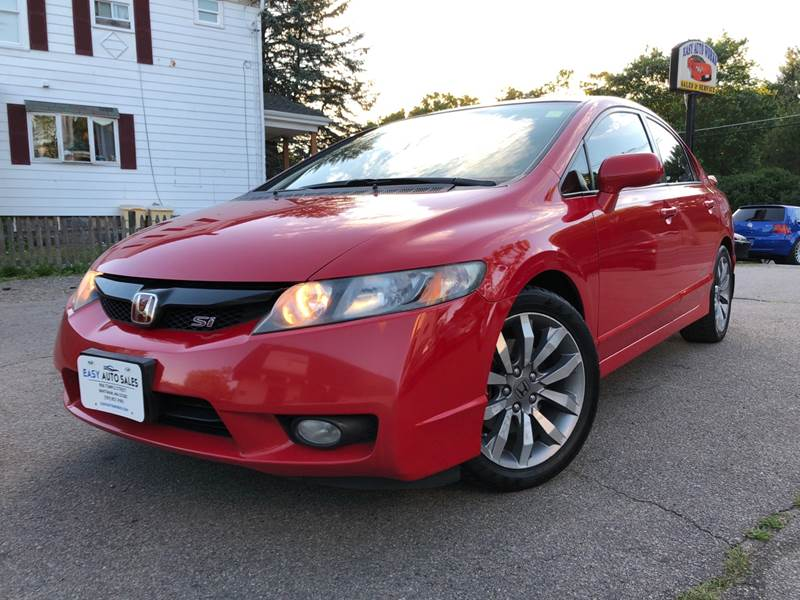 2009 Honda Civic Si 4dr Sedan   Whitman MA