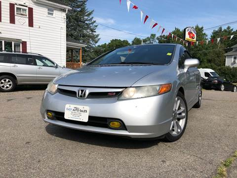 2008 Honda Civic for sale at Easy Autoworks & Sales in Whitman MA