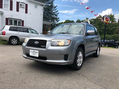2008 Subaru Forester for sale at Easy Autoworks & Sales in Whitman MA