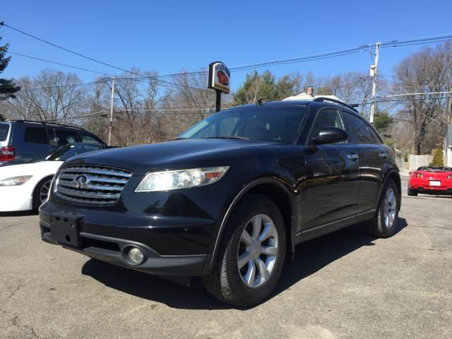 2005 Infiniti FX35 for sale at Easy Autoworks & Sales in Whitman MA