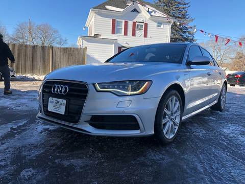 2012 Audi A6 for sale at Easy Autoworks & Sales in Whitman MA