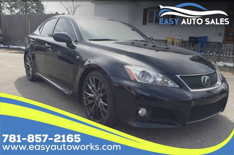 2010 Lexus IS F for sale at Easy Autoworks & Sales in Whitman MA
