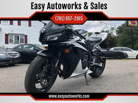 2008 Honda CBR600RR for sale in Whitman, MA