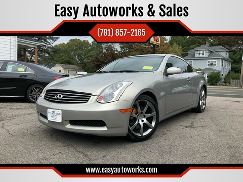 2003 Infiniti G35 for sale at Easy Autoworks & Sales in Whitman MA