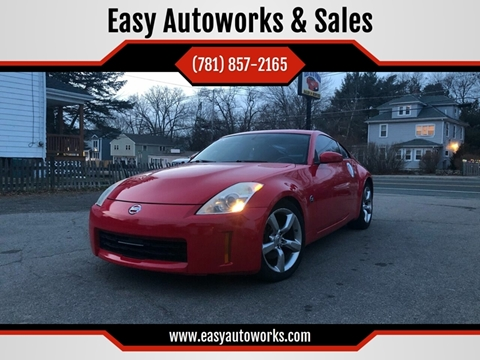 2008 Nissan 350Z for sale at Easy Autoworks & Sales in Whitman MA