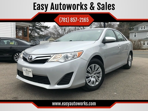 2012 Toyota Camry for sale at Easy Autoworks & Sales in Whitman MA