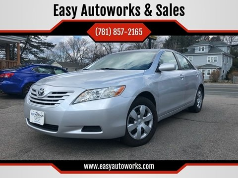 2009 Toyota Camry for sale at Easy Autoworks & Sales in Whitman MA