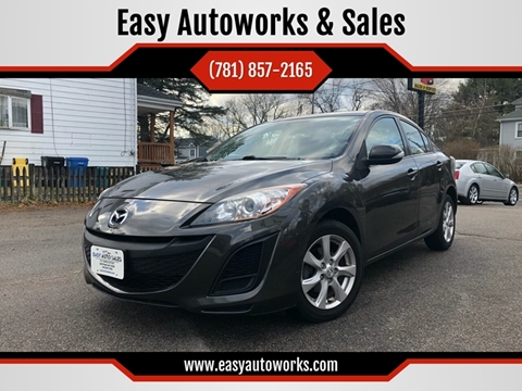 2010 Mazda MAZDA3 for sale at Easy Autoworks & Sales in Whitman MA