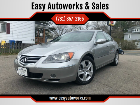 2008 Acura RL for sale at Easy Autoworks & Sales in Whitman MA