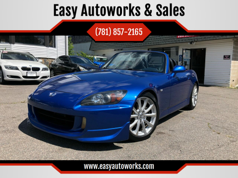 2007 Honda S2000 for sale at Easy Autoworks & Sales in Whitman MA