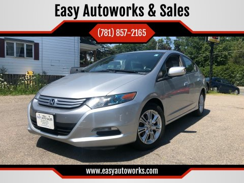 2010 Honda Insight for sale at Easy Autoworks & Sales in Whitman MA
