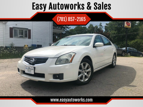 2007 Nissan Maxima for sale at Easy Autoworks & Sales in Whitman MA
