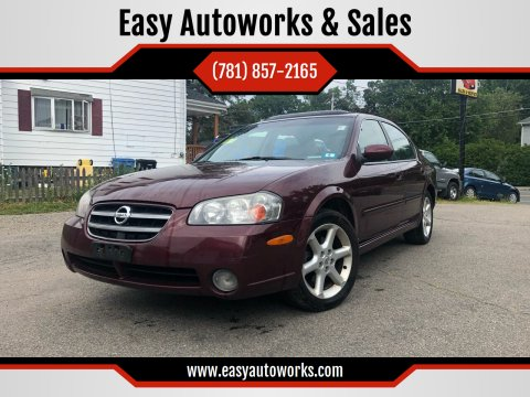 2002 Nissan Maxima for sale at Easy Autoworks & Sales in Whitman MA