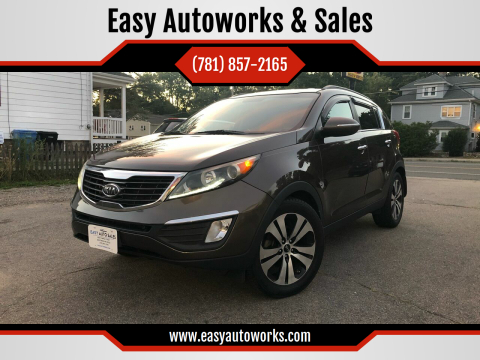 2011 Kia Sportage for sale at Easy Autoworks & Sales in Whitman MA
