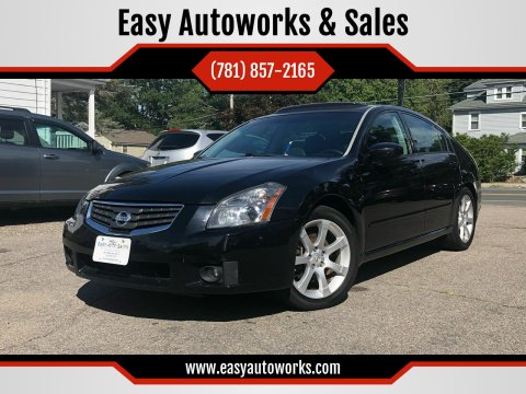 2008 Nissan Maxima for sale at Easy Autoworks & Sales in Whitman MA