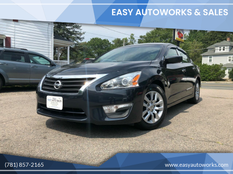2014 Nissan Altima for sale at Easy Autoworks & Sales in Whitman MA