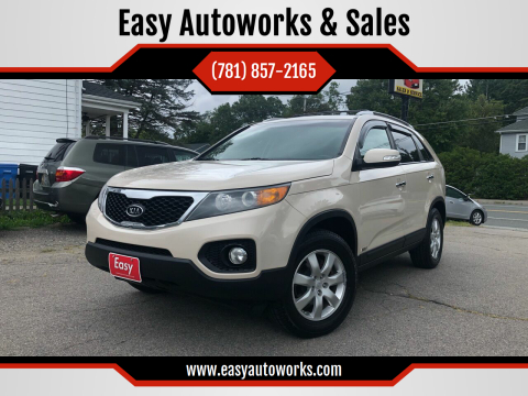 2011 Kia Sorento for sale at Easy Autoworks & Sales in Whitman MA