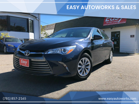 2017 Toyota Camry for sale at Easy Autoworks & Sales in Whitman MA
