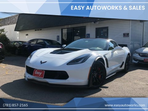 2015 Chevrolet Corvette for sale at Easy Autoworks & Sales in Whitman MA