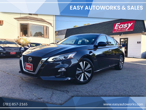 2019 Nissan Altima for sale at Easy Autoworks & Sales in Whitman MA