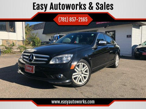2008 Mercedes-Benz C-Class for sale at Easy Autoworks & Sales in Whitman MA