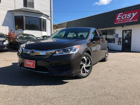 2016 Honda Accord for sale at Easy Autoworks & Sales in Whitman MA